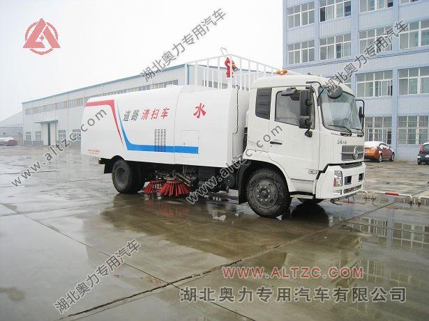 东风天锦消防扫路车