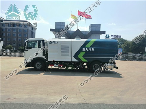重汽T5G洗扫车(国六)
